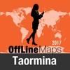 Taormina mapa offline y guía de viaje