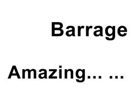 Using these cool barrage to express your meaning!