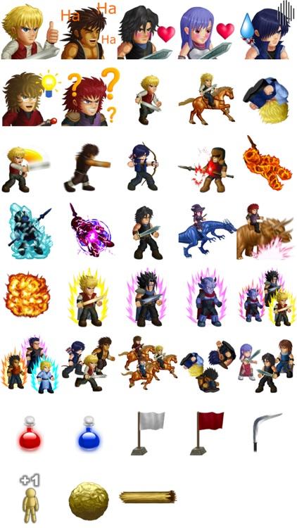 Hero Fighter X sticker pack
