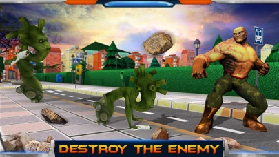 City Heroes 3D: Aliens War screenshot three