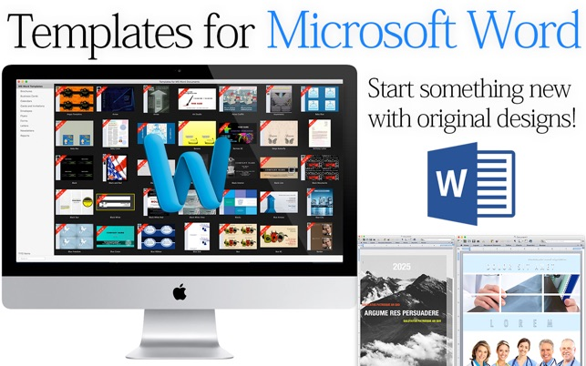 word document templates for mac
