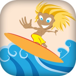 A+ Wipe Out Surfing FREE - An Endless Surfer Summer Game