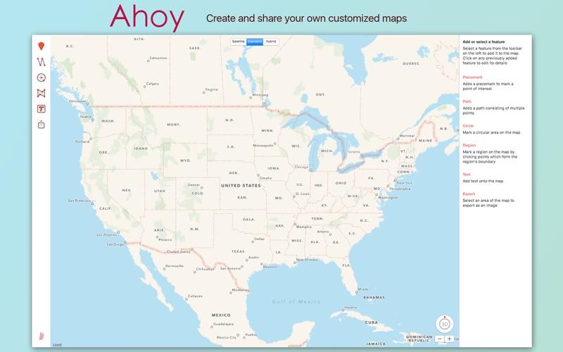 Ahoy Map Maker for Mac