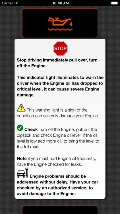 To Identify Car Problems, Car Warning Lights screenshot-4
