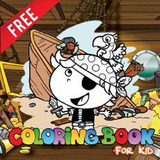 Activities of Pirate Parrot Paint Coloring Page Family friendly