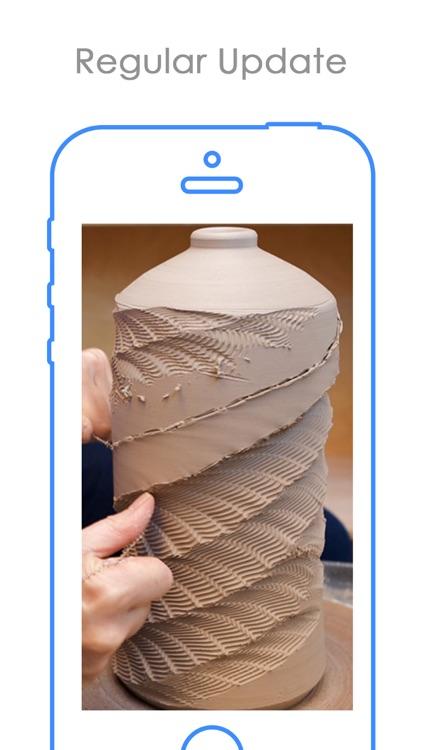 Free Pottery Design idea | Best Pot Paint Styles screenshot-3