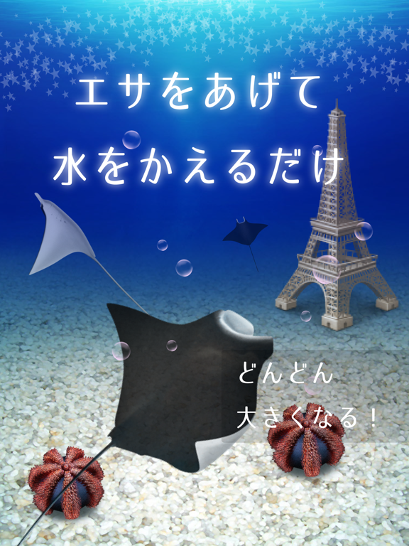 美しいマンタ育成ゲーム-無料の水族館育成ゲームアプリ-のおすすめ画像2