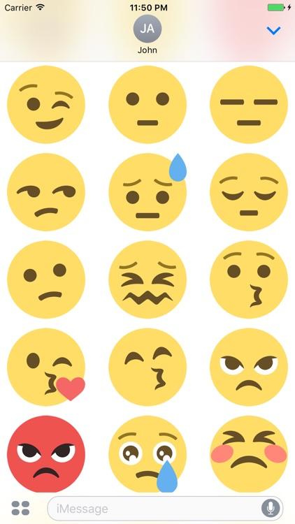 Smileys Stickers screenshot-3
