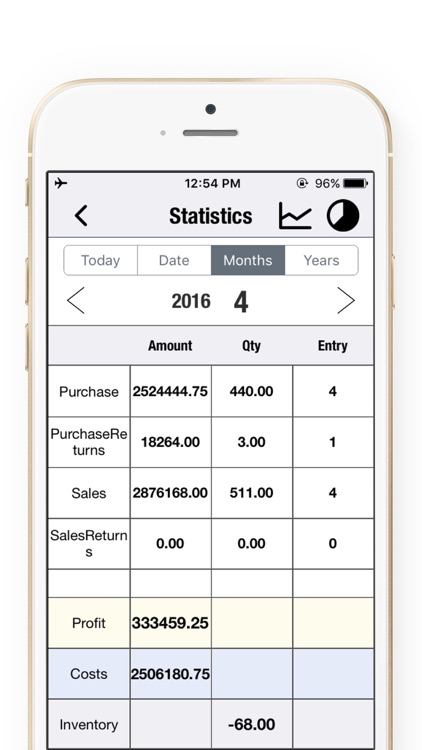 Daily Sales Tracker Pro—Retail  Invoicing Software screenshot-3