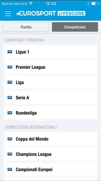 Eurosport Livescore