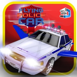 Flying Police Car Simulator & Cop driver games