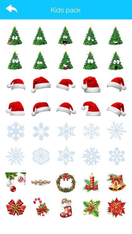 Christmas Stickers and Emoji