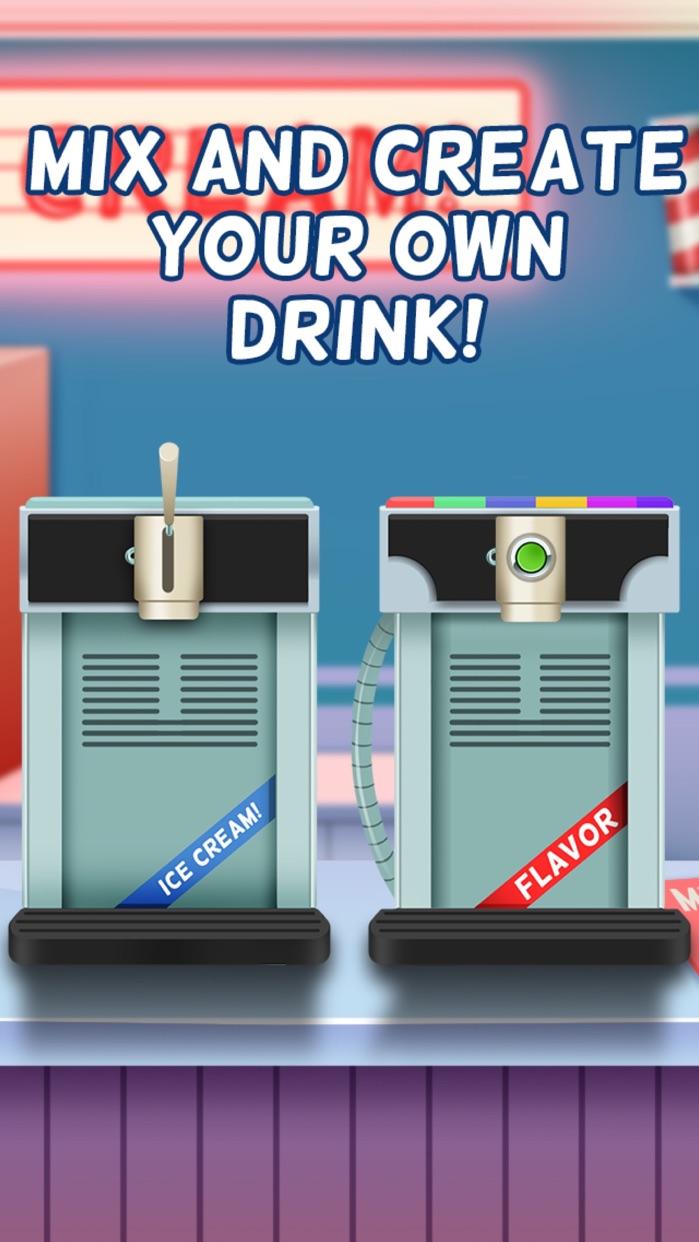 Awesome Ice Cream Milkshake Smoothie Parlor Maker Screenshot