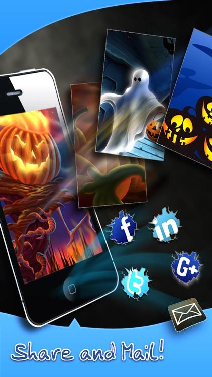 HD Halloween Wallpapers Pro for iPhone 5/iPad screenshot-3