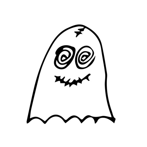 Ghostmoji - Friendly Ghost Expressions Stickers