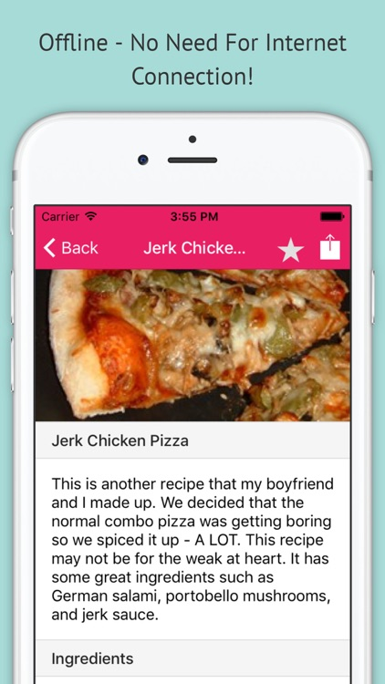 Pizza Recipes Pro - Offline Recipes