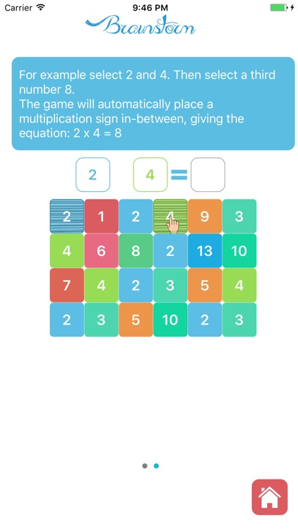 Brainstorm - Free math game for kids and toddlers