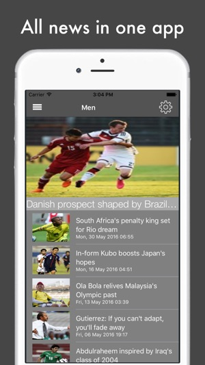 Football News - The Major Events on the App Store b09a16125