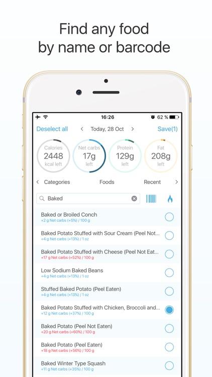 Keto diet tracker: low carb diet guide screenshot-4