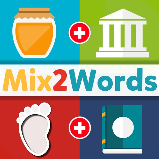 Mix 2 Words Free: 2 Pics Guess What Word