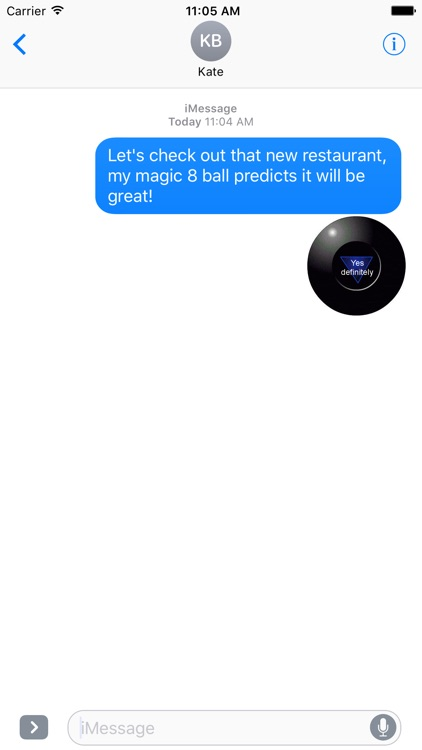 Magic 8 Ball Animated Stickers