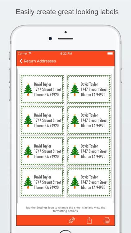 Label Printer - Create and Print Labels screenshot-0