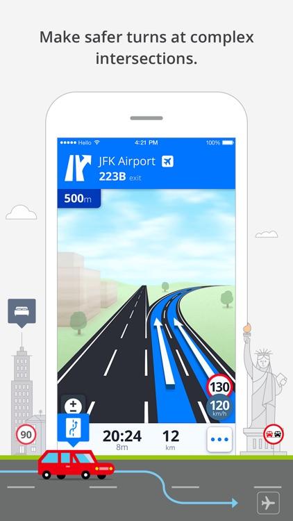 Sygic Middle East: GPS Navigation screenshot-4