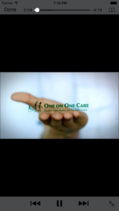 OneOnOneCare screenshot two