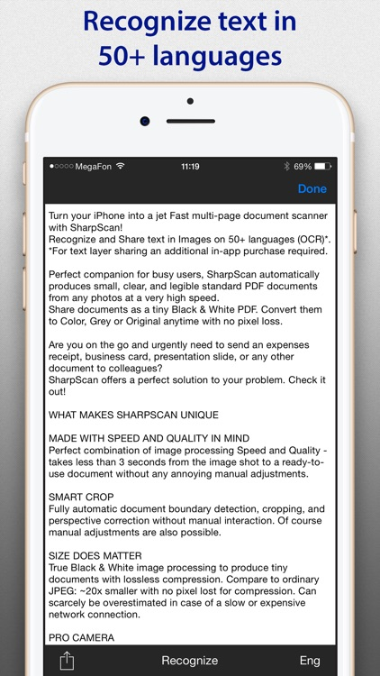 SharpScan Pro: OCR PDF scanner screenshot-2