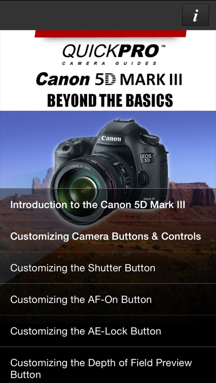Canon 5D Mark III Beyond the Basics QuickPro HD