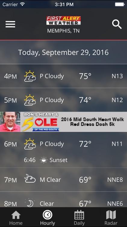 Action News 5 Memphis Weather screenshot-3