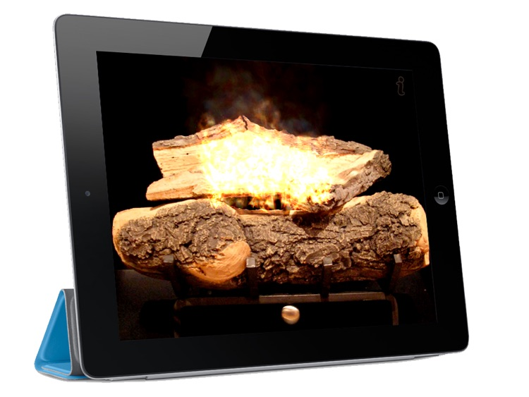 iFireplaces HD - Merry Christmas Yule Log Holidays