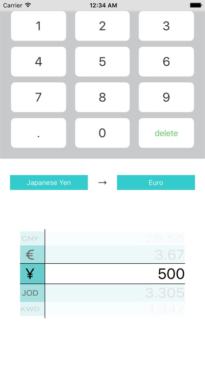 Currency Exchange Rates Converter screenshot-3