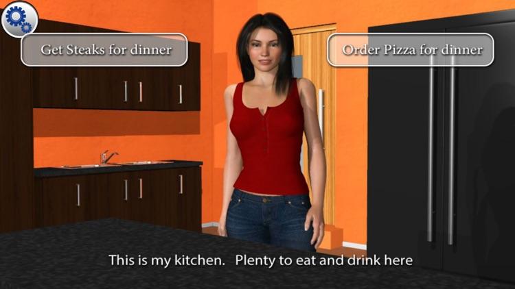Dating simulation