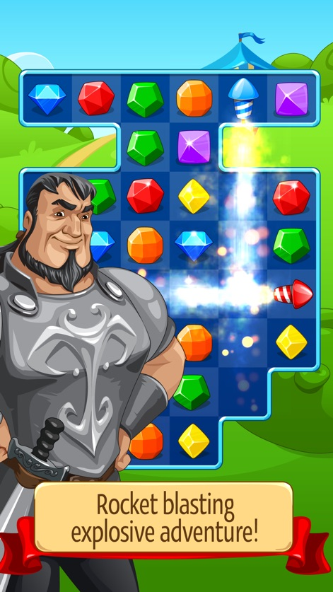 App screenshot for Knight Girl - Match 3 Puzzle