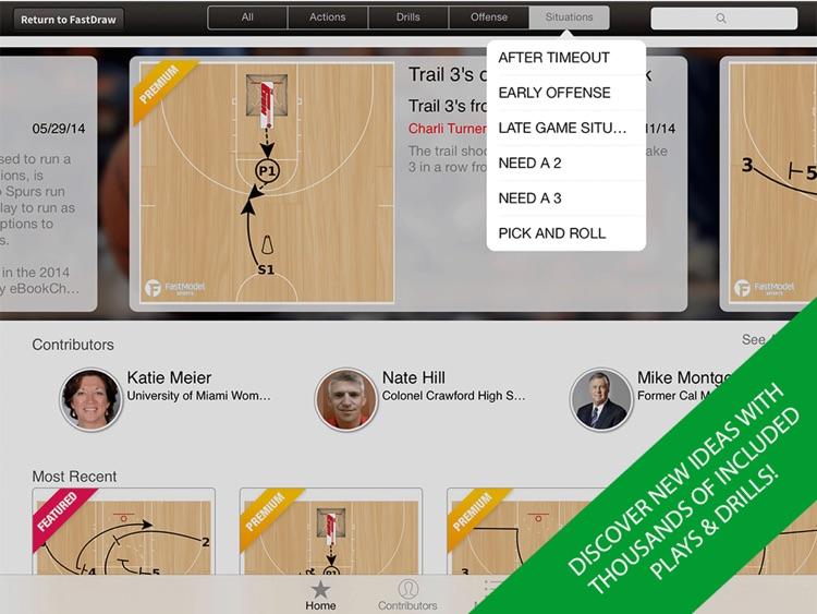 FastDraw Basketball screenshot-3