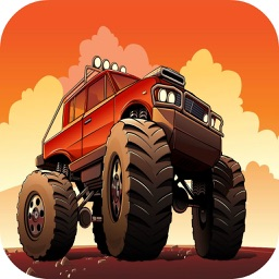 Monster Truck Racing Game Car Drive For Kid Heroes