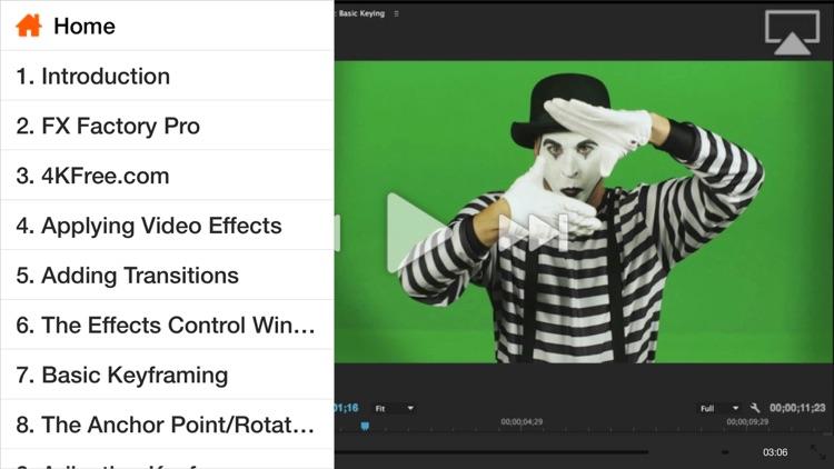 Effects Course For Premiere Pro CC