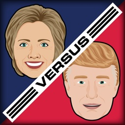 Hillary vs Trump - Stickers for iMessage