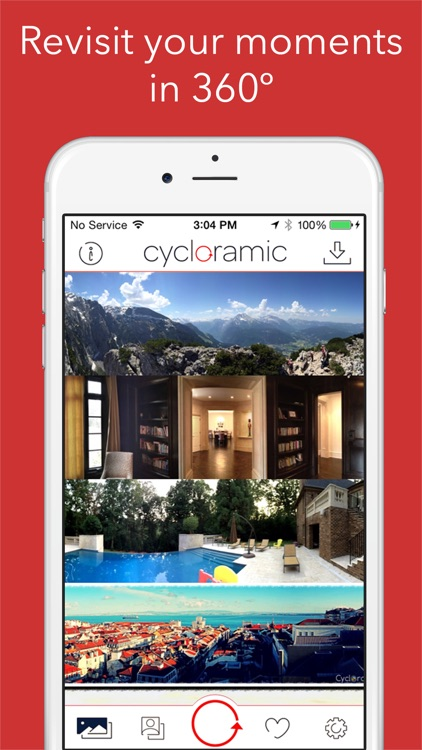 Cycloramic for iPhone 6/6S (Not the 6+/6S+)