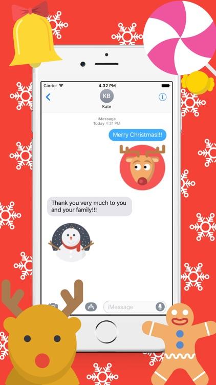 ChristmasEmoji - Stickers Pack