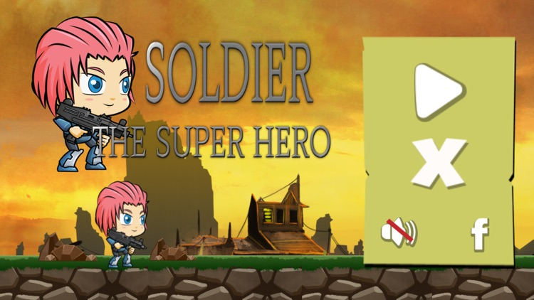 Soldier: The Super Hero Free Game screenshot-3