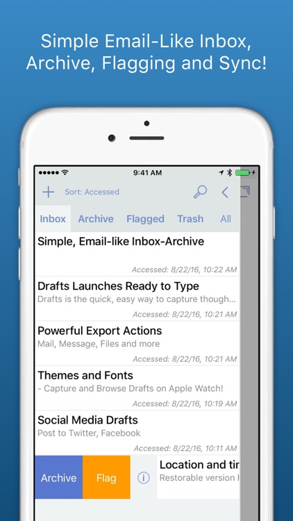 Drafts - Quickly Capture Notes, Share Anywhere!