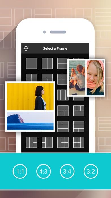 Photo Collage HD Pro – Pic Frame Maker Grid Editorのおすすめ画像1