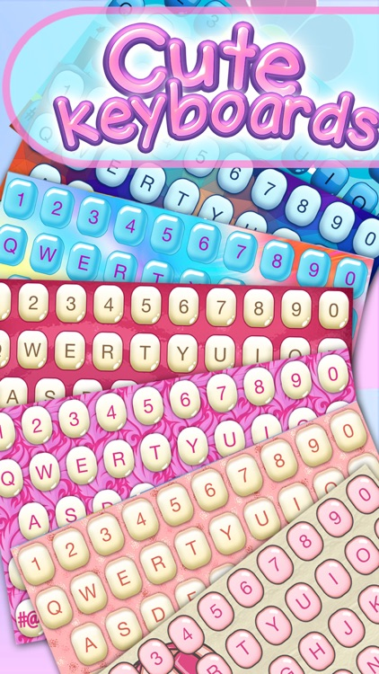 Cute Keyboards – Colorful Themes and Background.s