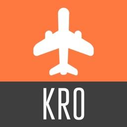 Koror Island Travel Guide and Offline Street Map