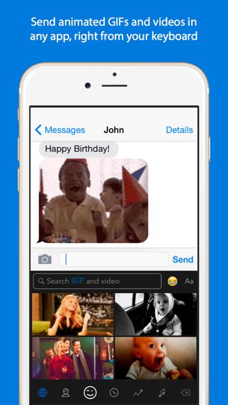 Screenshot for GIF Keyboard in Norway App Store
