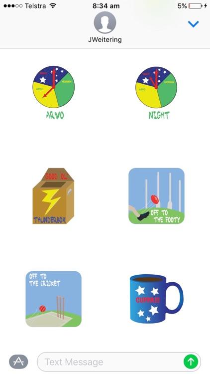 Aussie Slang Stickers screenshot-3