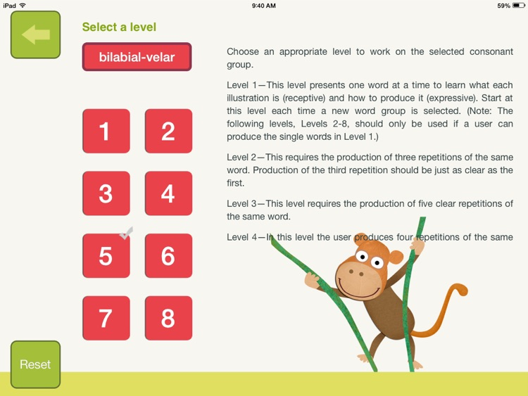 Speech Therapy for Apraxia - 2 Syllable Words screenshot-3