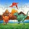 無料恐竜パズル ジグソー パズル ゲーム : 恐竜パズル子供幼児および幼児の学習ゲーム